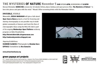 The Mysteries of Nature — Shared Flyer