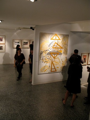 Exhibition View of Artwork by Argie Bandoy