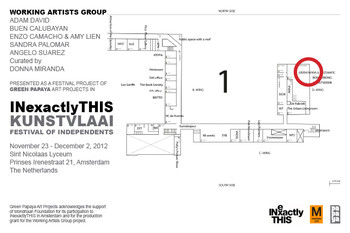 Working Artists Group — Flyer