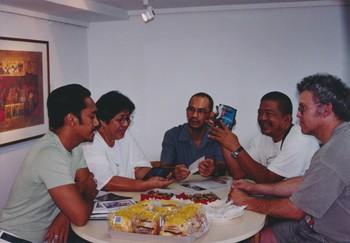 Artists with Bino Realuyo