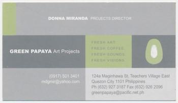 Business Card — Donna Miranda