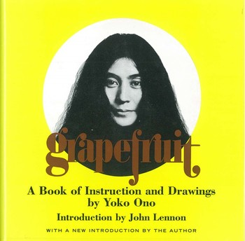 Grapefruit A Book of Instructions and Drawings by Yoko Ono_Cover