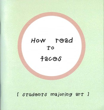 How to read faces [students majoring art]