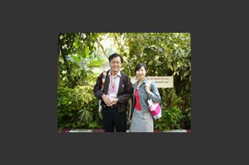 Uchida Hiroshi and Huang Shan Shan
