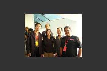 Lu Jie, Gridthiya Gaweewong, Hou Hanru and Navin Rawanchaikul