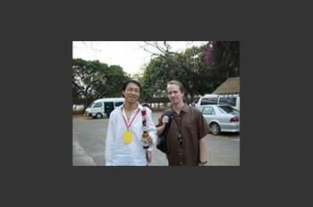 Lu Jie and Jonathan Napack