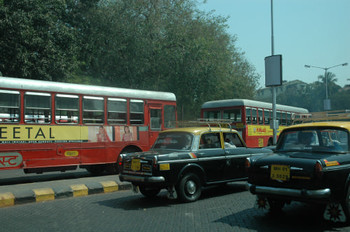 Mumbai in the traffic