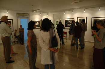 Exhibition opening at the Guild Art Gallery
