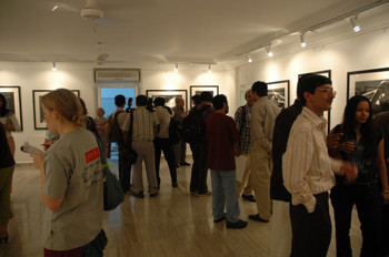 Opening of exhibition of Padamsee at Guild Art Gallery