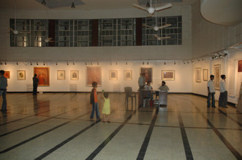 Exhibition Shot of Jehangir Art Gallery