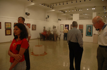 Rented exhibition space at Jehangir Art Gallery