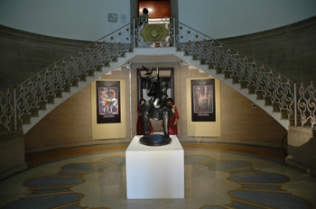 Entrance hall of NGMA