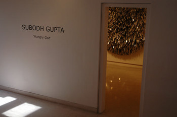 Subodh Gupta show at Nature Morte