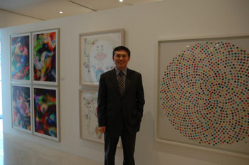 Director and founder of K auction house, Kim Soon-eung