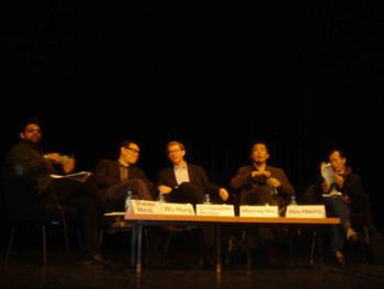 Curators in panel