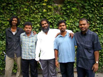 Sudath Abeysekara, Susil Dixon, Jagath Ravindra, Suneth Aravinda, Sarath Gunasiri