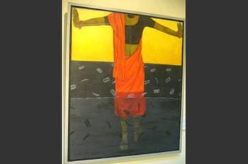 My Time-17, Acrylic, Shulekha Choudhury