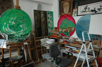 Liu Dahong's Studio