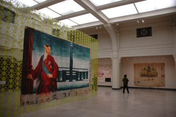 Zhou Tiehai Exhibition at Shanghai Museum of Art