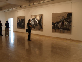 Vanishing Home: Works by Lu Hao 2006 - Exhibition View