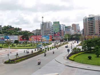 Yangjiang city scene