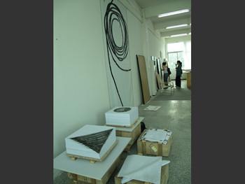 Qin Chong's studio
