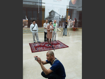 Solos by Lu Hao and Yue Mingjun at the He Xiangning Art Museum - Opening