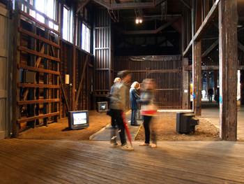 Video installation by Almagul Menlibayeva