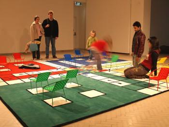 La Maison, Mixed media installation, 2006, Meschac Gaba