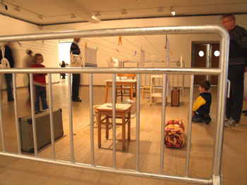 Mobile Home, Installation, 2005, Mona Hatoum