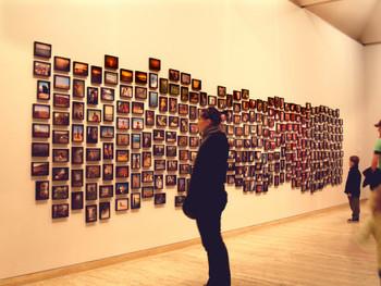 Vox Populi - Sydney, Photographic Installation, 2006, Fiona Tan