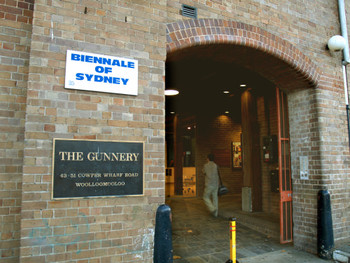 Office of the Sydney of Biennale at Artspace