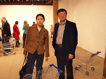 Gu Zhenqing and his wife