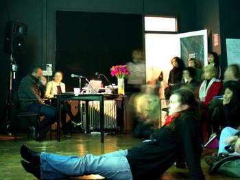 Artist's talk by Elena Kovylina