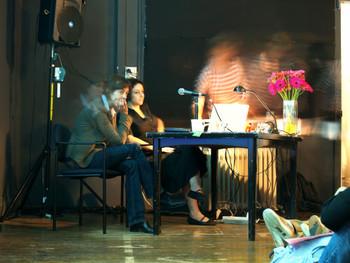 Artists' talk by Ruti Sela and Maayan Amir