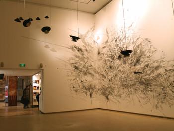 Untitled , Installation, 2006, Steven Vitiello and Julie Mehretu