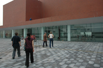 Visit to Songzhuang Art Museum being built by Li Xainting