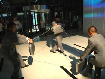 Performance Work by Wang Jianwei