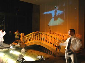 Performance organised by Wang Jianwei