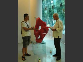 Zhang Jianjun and Robert Fitzpatrick