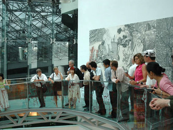 Tour of Shanghai MoCA by American Centre Foundation Board