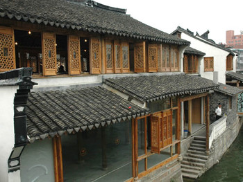 Exhibition site for A Yellow Box in Qingpu