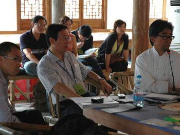 Johnson Chang at the Qingpu Forum