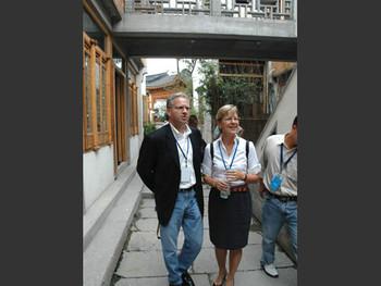 Paul Calello and Jane DeBevoise