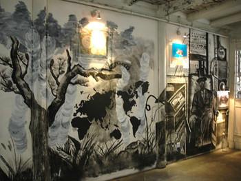 Work by Sun Xun in Qingpu
