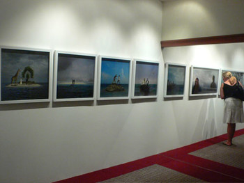 Sulu Stories; colour photographs by Malaysian artist Yee I-Lan at City Hall