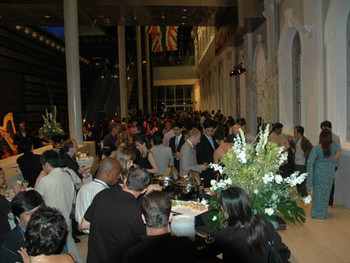 Reception at the National Gallery