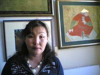Bayarmagnai (Mongol Zurag style)