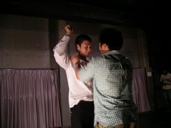 Performance by Shohei Nomoto (Japan) in Morishita Studio, Tokyo