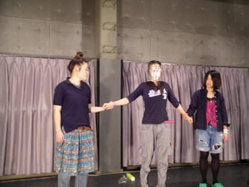 Performance by Yoshie Baba (Japan) in Morishita Studio, Tokyo